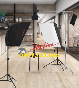 Bộ Kit đèn flash studio Jinbei DPE600